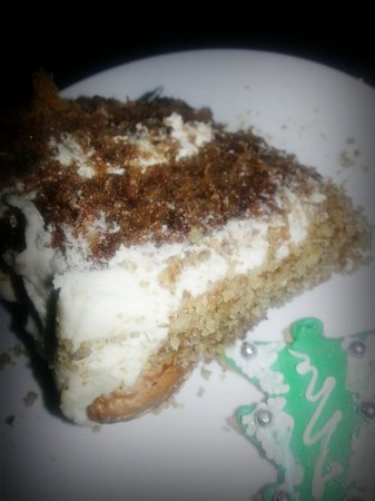 The Vineyard on Ballito: best carrot cake ever- freshly baked