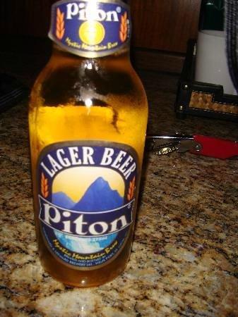 Ladera Resort: local beer