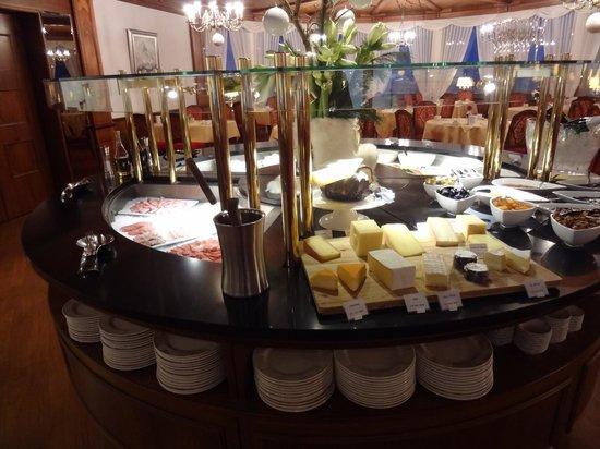 Parkhotel Beau Site: Frühstücksbuffet
