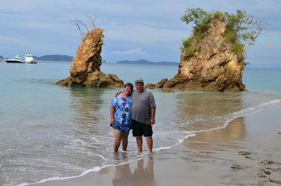 Curu National Wildlife Refuge: Isla Tortuga private beach