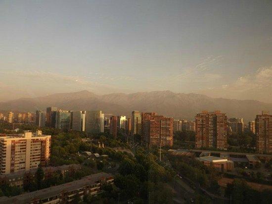 Hotel Santiago: Vista do apartamento