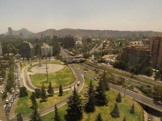 Hotel Santiago: Vista do apto