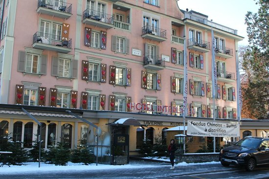 Hotel Interlaken: front of Hotel