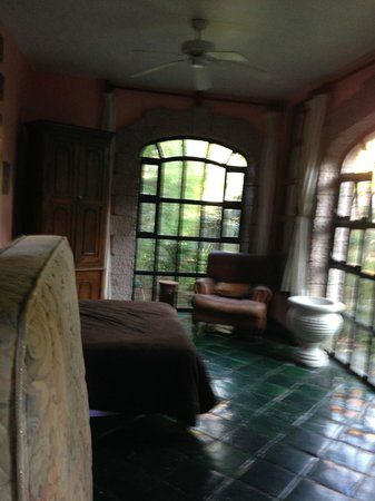 Las Sabilas: One of the rooms
