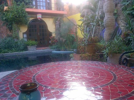 Las Sabilas: Pergola's view