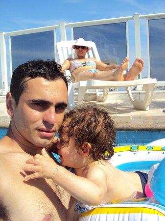 Atlântico Copacabana Hotel : piscina,bom demais..