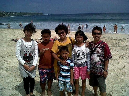 Uno Bali Inn : My family