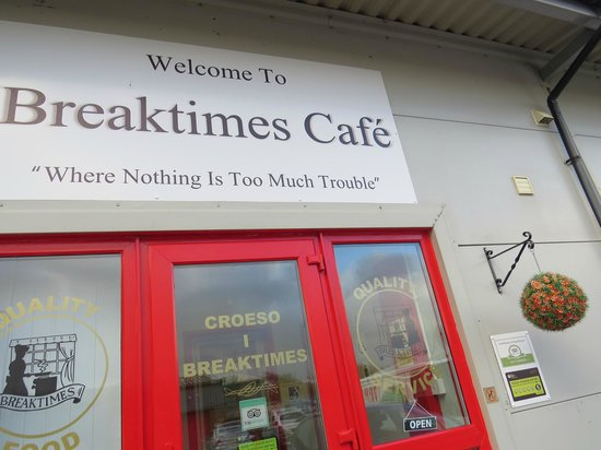 Breaktimes Cafe where 'nothing is too much trouble'!
