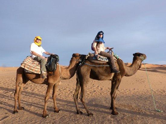 Etoile des Dunes : départ vers le bivouac