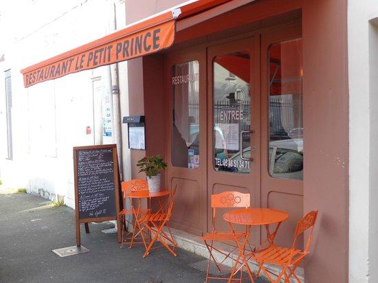 Restaurant Le Petit Prince : la devanture du restaurant