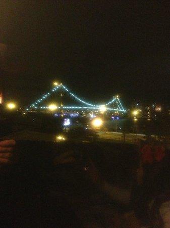 Taberna Iberica: Vista da Ponte Hercílio Luz