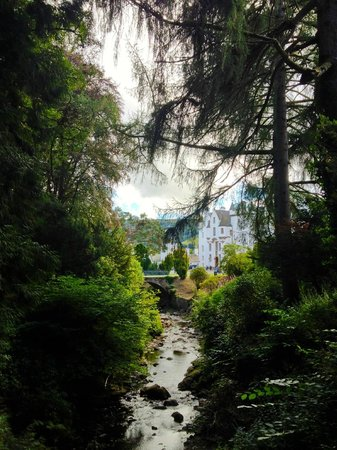 Blair Castle and Hercules Gardens: Blair Castle from Diana's Grove