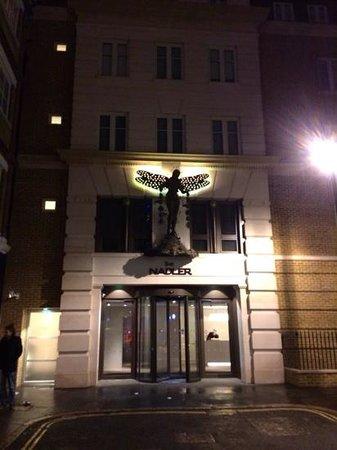 The Nadler Soho: Front entrance
