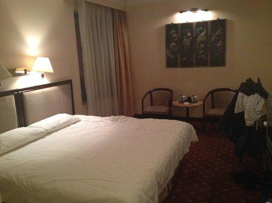 Beijing Yanshan Hotel: Bedroom
