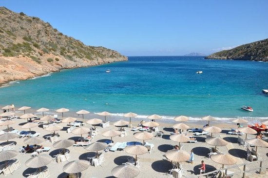Daios Cove Luxury Resort & Villas: Daios Cove - la plage