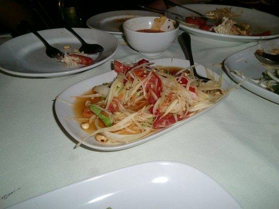 Rosabieng Restaurant : ソムタム