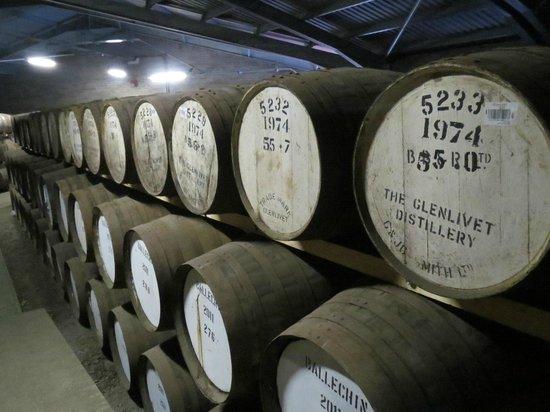 Edradour Distillery: Dekorativt og velsmagende