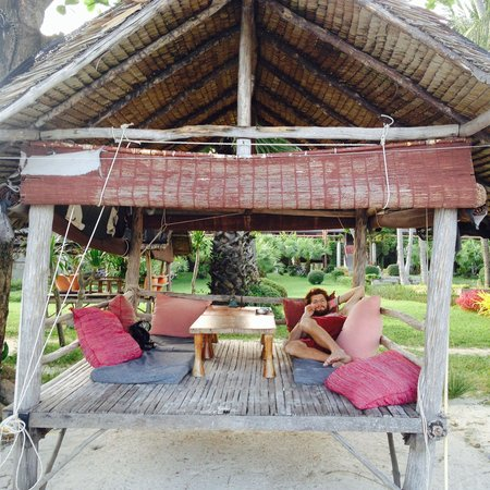 Muang Kulaypan Hotel: Breakfast beach hut