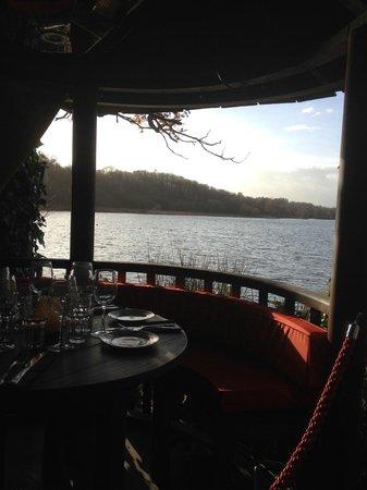 "The Wiremill Lakeside Pub & Inn: Lakeside Dining ""Pod"""