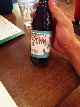 Harper's Burger Bar: Craft Beer - Moroccan Brown Ale