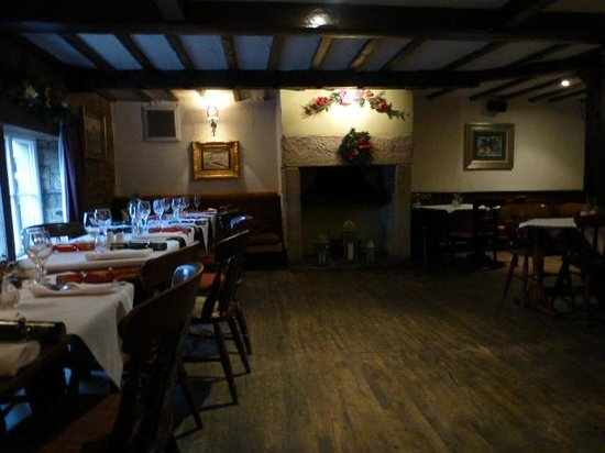 The Stansfield Arms: One of the dining area's