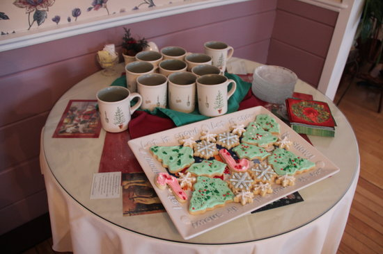 Buttonwood Inn on Mount Surprise: Paula's homemade Christmas cookies
