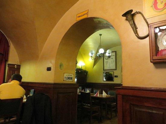 Belgian Restaurant : inside