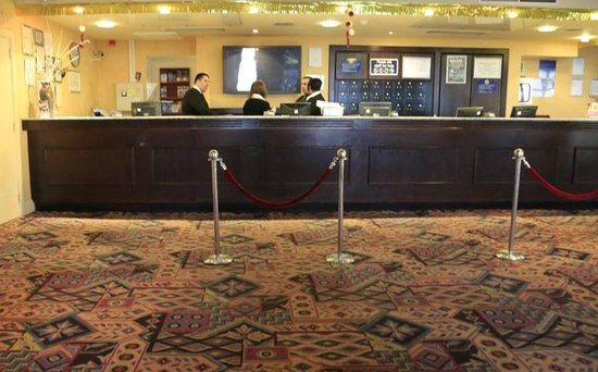 Norbreck Castle Hotel: reception