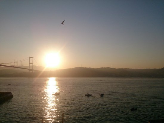 The House Hotel Bosphorus: Morning view