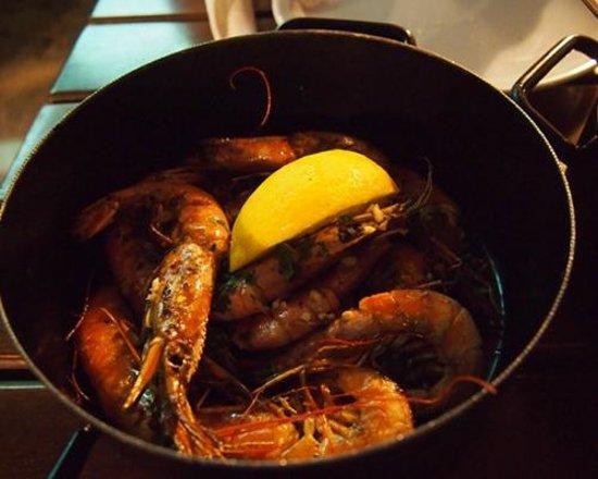Lokanda Peskarija: grilled shrimp