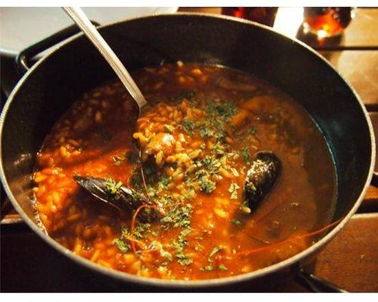 Lokanda Peskarija: seafood risotto