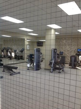 Manhattan Beach Marriott: Workout room