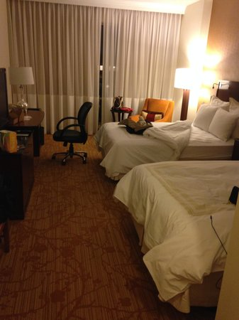 Dallas/Plano Marriott at Legacy Town Center : room