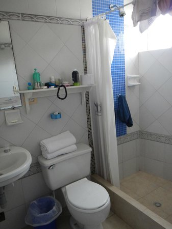 San Andres Noblehouse Hotel: Baño muy limpio