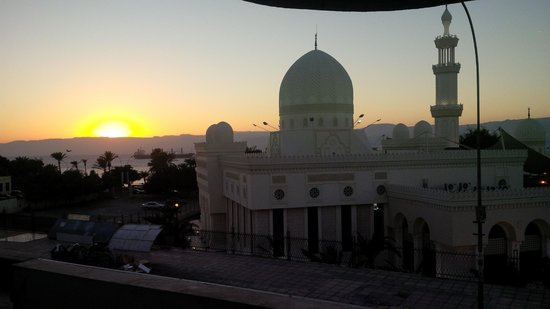 Syrian Palace Restaurant: View from the Syrian Palace Resto