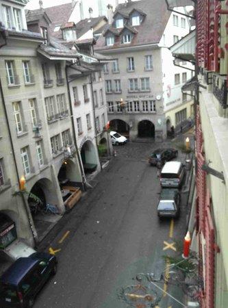 Hotel Goldener Schlussel: View from third floor room