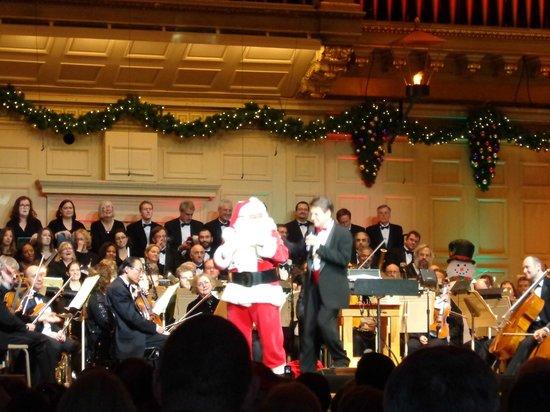 Boston Symphony Orchestra : Holiday Pops