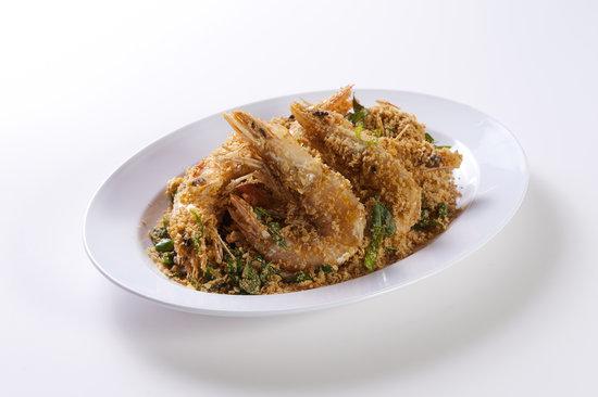 Pinang Taste Seafood Restaurant : Nestum Prawn