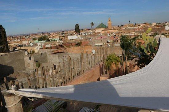 Hotel La Maison Nomade : Ausblick Dachterrasse
