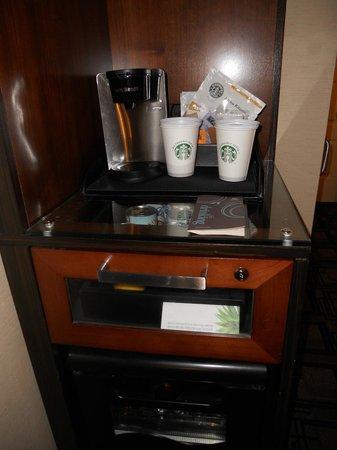 Sheraton New York Times Square Hotel: Coffee facilities