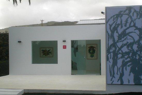 Kunst auch in der toilette bild von casa museo cesar - Casa museo cesar manrique ...