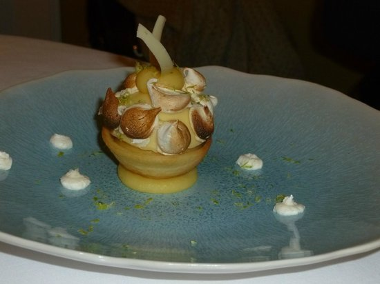 Restaurant Origine: Tarte au citron revisitée