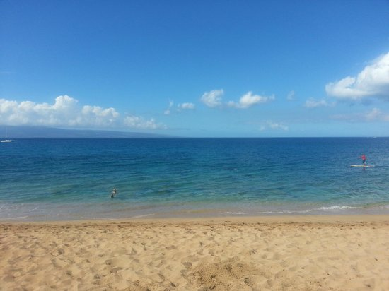 Ka'anapali Beach: Relaxing