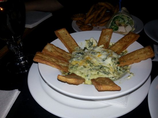 The Grand Experience: Artichoke and Spinach Dip - piping hot