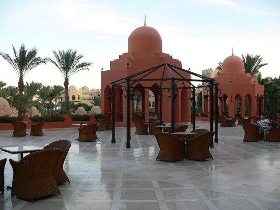 The Makadi Palace Hotel : Blick beim Ausgang aus der Lobby