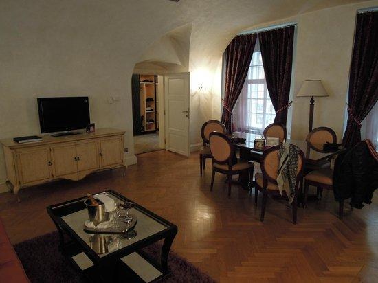 Pachtuv Palace: Lounge area