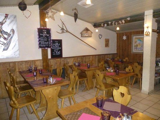 La Table de Marie: la salle de restaurant