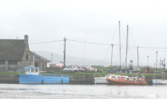 Eyre Square : Boats in Galway Bay