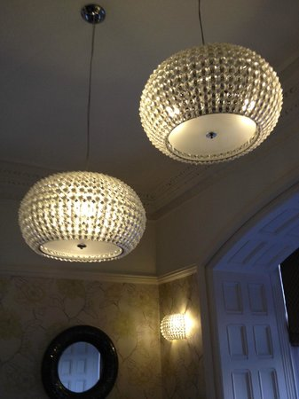 Applegarth Villa and Restaurant: Pretty Bedroom Lights