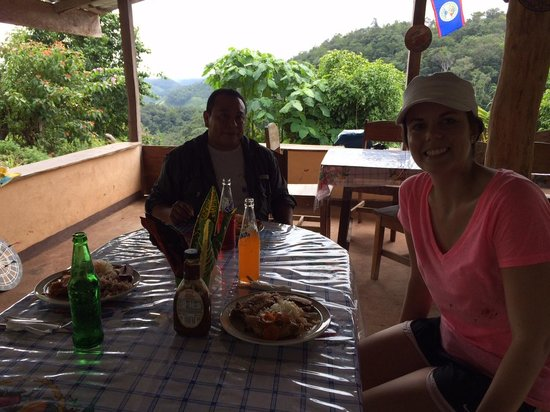 Belize Nature Travel: Lunch with Luis